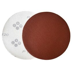 Csiszolókorong KONER D30 125mm, P040, Aluoxide