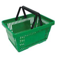 Bevásárló kosár, 20 literes, zöld ZÖLD
