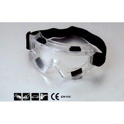 Védőszemüveg PVC