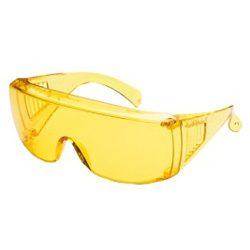 Szemüveg B501 sárga, védő