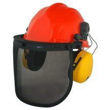 Safetyco oajzs SM-409P, sisak és fülvédő