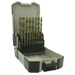 Készlet fúró SP+ Premium M2, 19 részes, 43475 mm, HSS, DIN-338