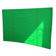 MONTGOMERY oldalfal sátorhoz, 300x300 cm, zöld
