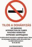 Dohányzást szabályozó táblák