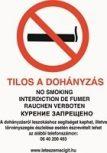 Dohányzást szabályzó táblák