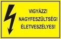 Érintésvédelmi táblák