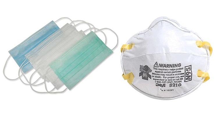 Orvosi szájmaszk és FFP2 maszk